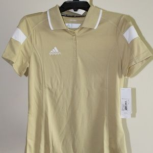 NWT ADIDAS Womens Polo Shirt Climalite Size Small